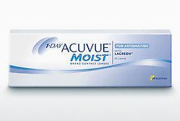 Contact Lenses Johnson & Johnson 1 DAY ACUVUE MOIST for ASTIGMATISM 1MA-30P-REV