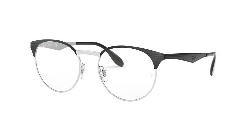Ray-Ban   RX6406 2861 SILVER ON TOP BLACK