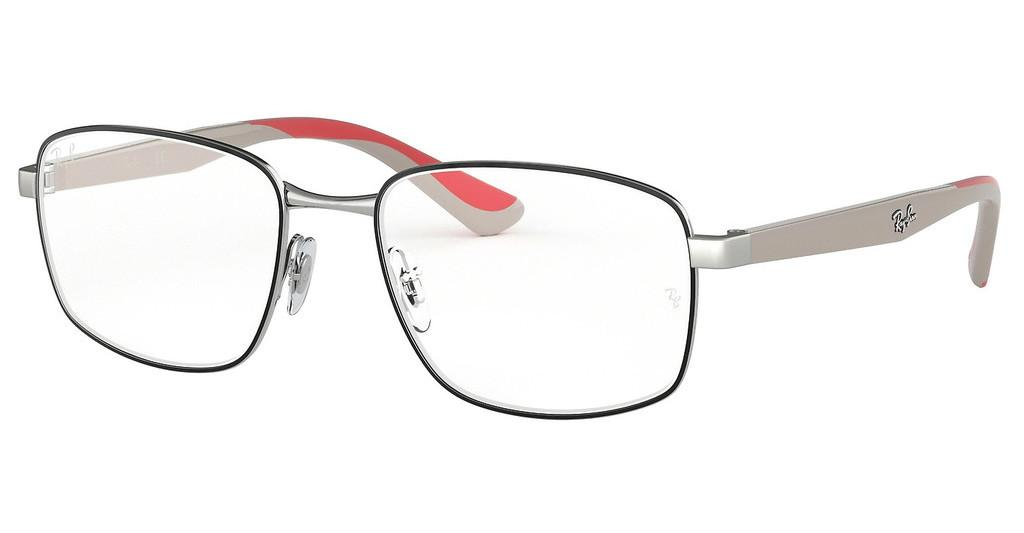 Ray-Ban   RX6423 3013 SILVER ON TOP BLACK