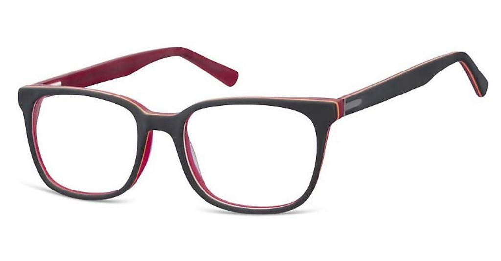 Sunoptic   A57 F Matt Black/Clear Red
