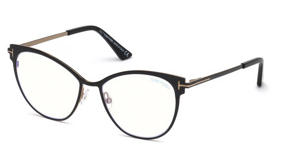 Tom Ford   FT5530-B 001 schwarz glanz