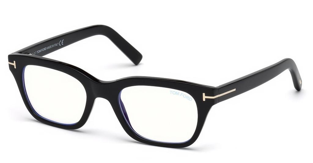 Tom Ford   FT5536-B 001 schwarz glanz