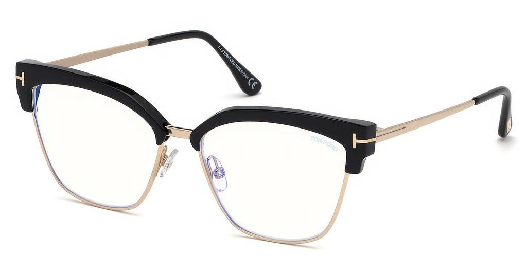 Tom Ford   FT5547-B 001 schwarz glanz