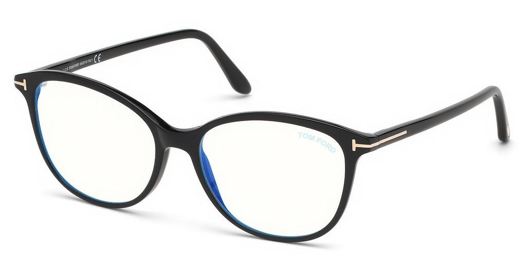 Tom Ford   FT5576-B 001 schwarz glanz