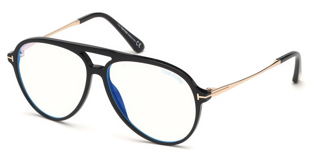 Tom Ford   FT5586-B 001 schwarz glanz