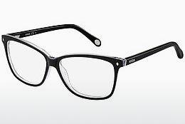 Eyewear Fossil FOS 6011 GW7 - Black, Grey, Flowers
