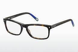 Eyewear Fossil FOS 6019 GXC - Brown, Havanna, Blue, Grey