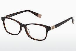 Eyewear Furla VFU031 0722 - Brown, Havanna
