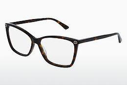Eyewear Gucci GG0025O 002 - Brown, Havanna