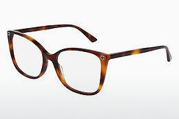 Eyewear Gucci GG0026O 002 - Brown, Havanna