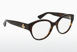 Eyewear Gucci GG0099O 002 - Brown, Havanna