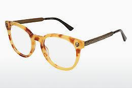 Eyewear Gucci GG0219O 003 - Brown, Havanna