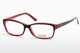 Eyewear Guess GU2542 070 - Burgundy, Bordeaux, Matt