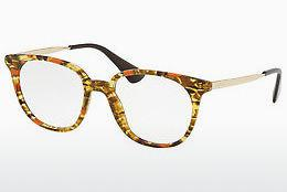 Eyewear Prada PR 13UV KJN1O1 - Orange, Brown, Havanna