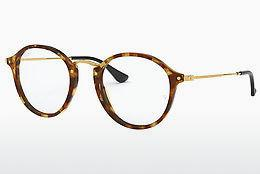 Eyewear Ray-Ban Round (RX2447V 5494) - Brown, Havanna