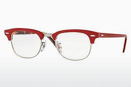 Eyewear Ray-Ban CLUBMASTER (RX5154 5651) - Red, Patterned