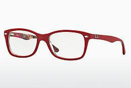 Eyewear Ray-Ban RX5228 5406 - Red, Patterned