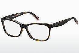 Eyewear Tommy Hilfiger TH 1483 O63 - Red, Brown, Havanna