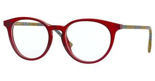 Burberry BE2318 3859 TRANSPARENT RED