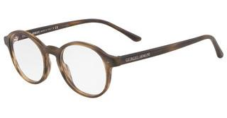 Giorgio Armani AR7004 5405 MATTE STRIPED BROWN