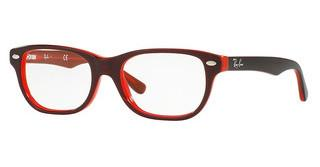 Ray-Ban Junior RY1555 3664 TOP RED ON RED FLUO