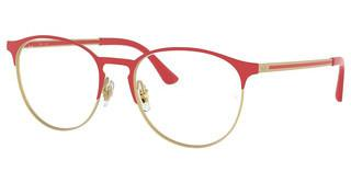 Ray-Ban RX6375 3052 MATT RED ON RUBBER GOLD