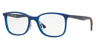 Ray-Ban RX7142 5761 TRASPARENT BLUE