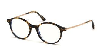 Tom Ford FT5554-B 055 havanna bunt