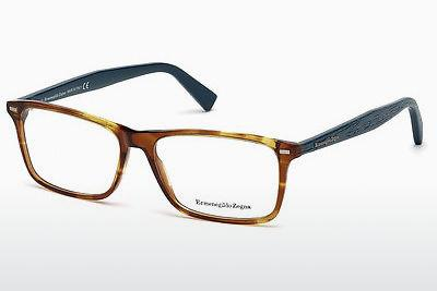 Eyewear Ermenegildo Zegna EZ5069 055 - Multi-coloured, Brown, Havanna