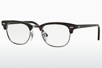 Eyewear Ray-Ban CLUBMASTER (RX5154 2012) - Brown, Havanna