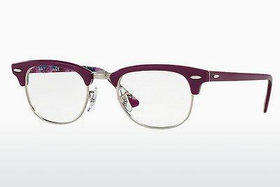 Eyewear Ray-Ban CLUBMASTER (RX5154 5652) - Purple, Patterned