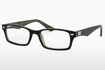 Eyewear Ray-Ban RX5206 2445 - Green, Brown, Havanna