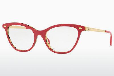 Eyewear Ray-Ban RX5360 5714 - Red, Brown, Havanna, Green