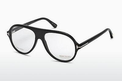 Eyewear Tom Ford FT5437-P 63A - Brown, Ivory, Black