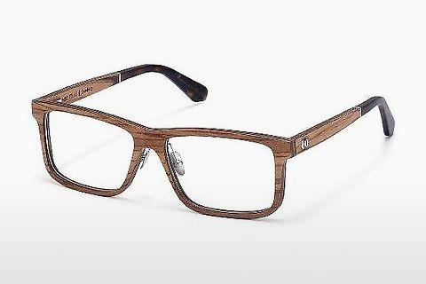 Eyewear Wood Fellas Eisenberg (10943 zebrano)