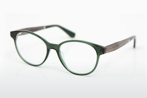 Eyewear Wood Fellas Haldenwang (10972 grey oak/crystal green)