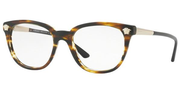 Versace   VE3242 5202 STRIPED HAVANA