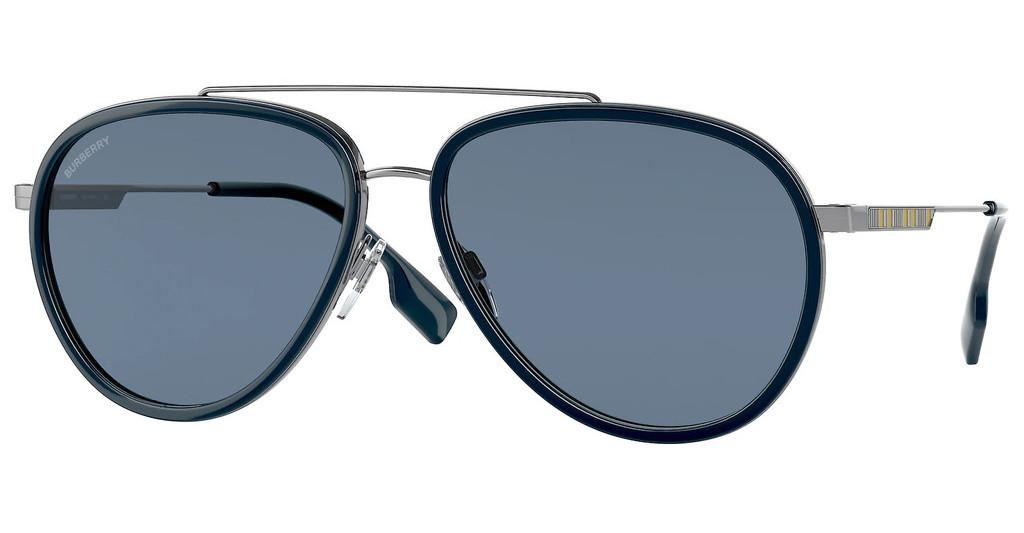Burberry   BE3125 100380 DARK BLUEGUNMETAL