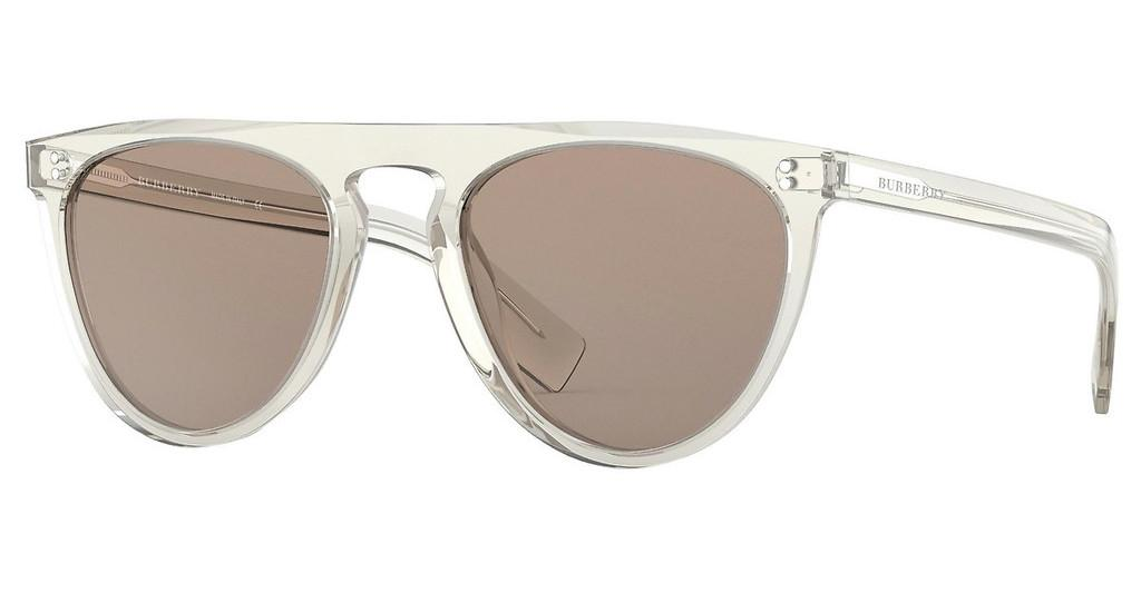 Burberry   BE4281 37803G LIGHT BROWNTRANSPARENT GREY