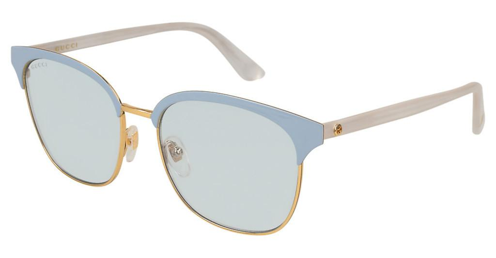 Gucci   GG0244S 004 LIGHT BLUEGOLD