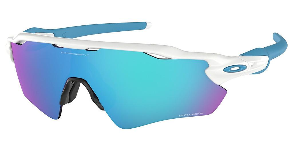 Oakley   OO9208 920857 PRIZM SAPPHIREPOLISHED WHITE