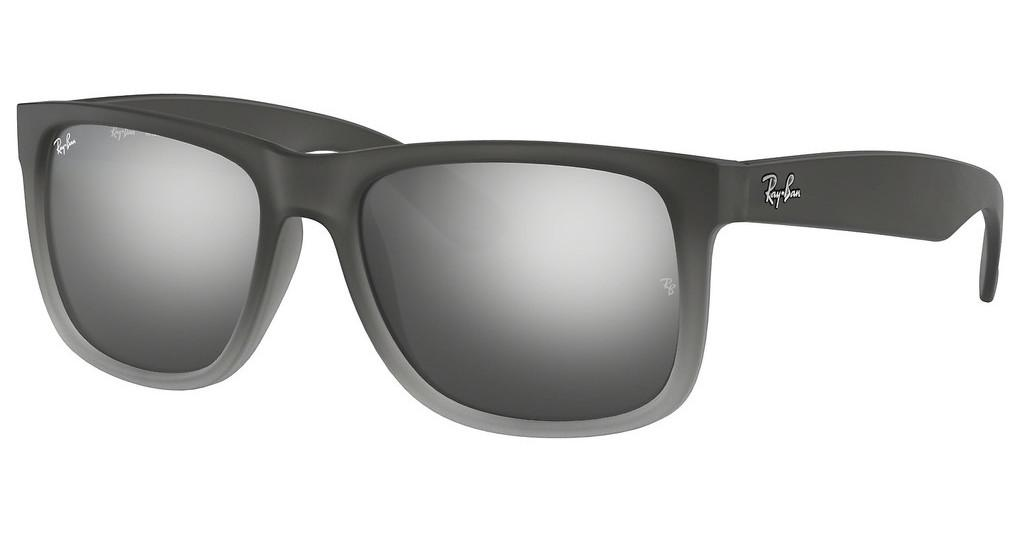 Ray-Ban   RB4165 852/88 GREY SILVER MIRROR GRADIENTRUBBER GREY/GREY TRANSP.