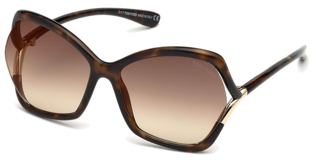 Tom Ford   FT0579 52G braun verspiegelthavanna dunkel
