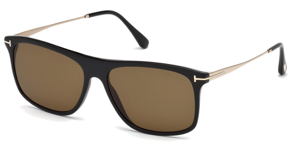 Tom Ford   FT0588 01E braunschwarz glanz