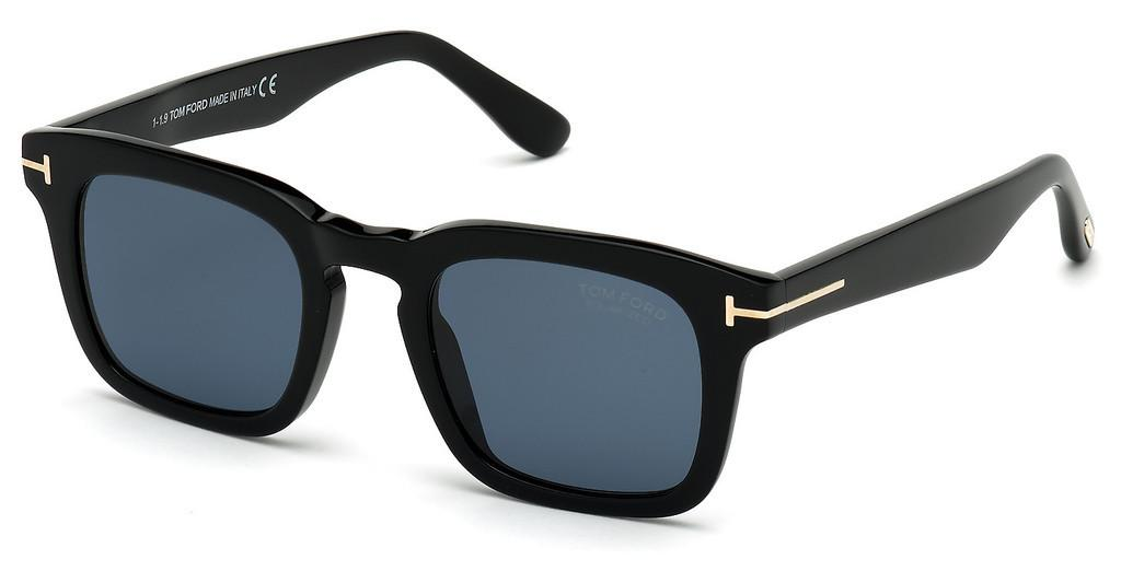 Tom Ford   FT0751 01V blauschwarz glanz