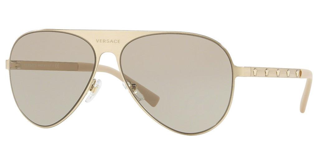 Versace   VE2189 1339/3 LIGHT BROWNBRUSHED PALE GOLD
