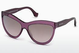 Ophthalmics Balenciaga BA0090 69C - Burgundy, Bordeaux, Shiny