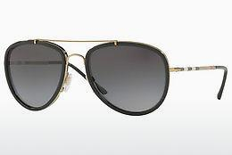 Ophthalmics Burberry BE3090Q 1167T3 - Gold, Black