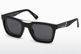Ophthalmics Diesel DL0250 01A - Black, Shiny