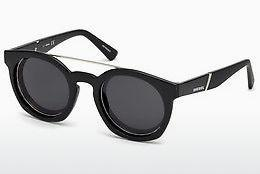 Ophthalmics Diesel DL0251 01A - Black, Shiny